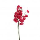 wholesale Artificial Flowers: Wicke bundle x3 branches, length 42cm, purple